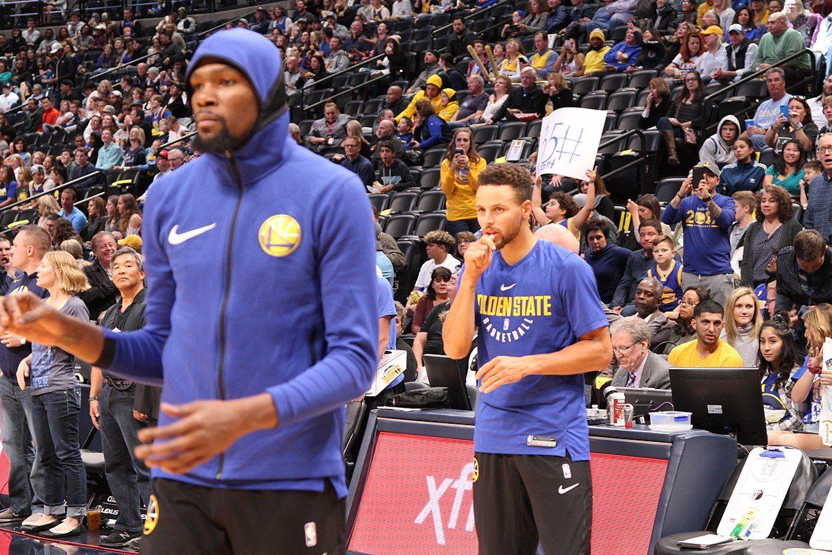 Warriors nappasi pakkovoiton - Kevin Durant loukkaantui jälleen Koripallo NBA Uncategorized Urheilu