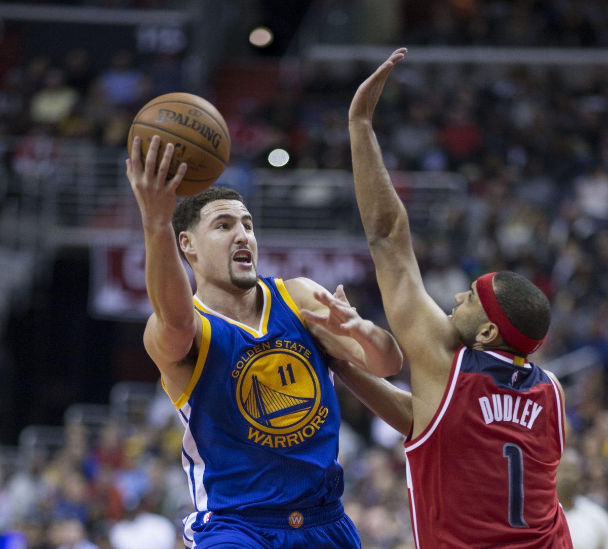 Warriors tasoitti finaalisarjan - Klay Thompson joutui keskeyttämään Koripallo Uncategorized Urheilu