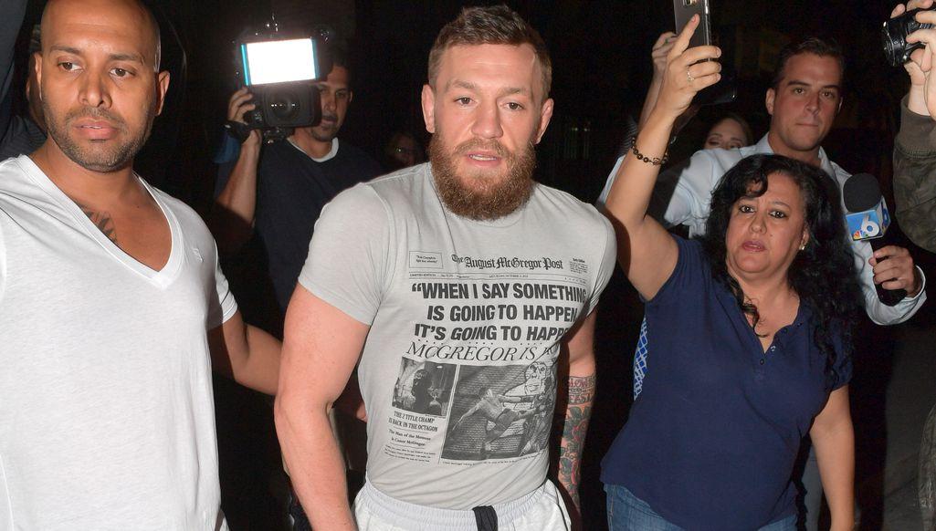 UFC-tähti Conor McGregor pidätettiin Miamissa - sai raivokohtauksen hotellin edessä Kamppailulajit Urheilu
